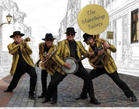 The Marching Saints - Jazz to go!